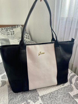 Guess Handbag black-white
