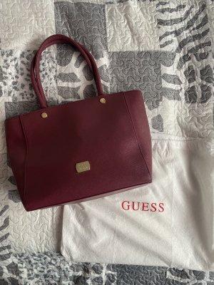 Guess Handbag purple