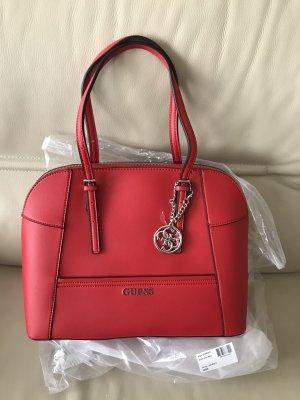 GUESS Tasche Handtasche Schultertasche Delaney EY453507 ROT NEU