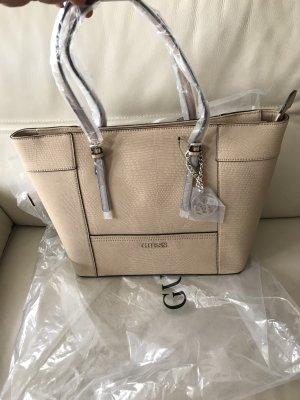 GUESS Tasche Henkeltasche Shopper Delaney PY453523 sandbraun beige 43 cm NEU