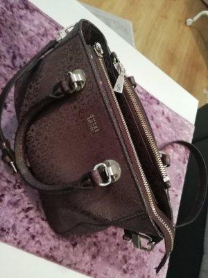 Guess Crossbody bag brown violet-violet