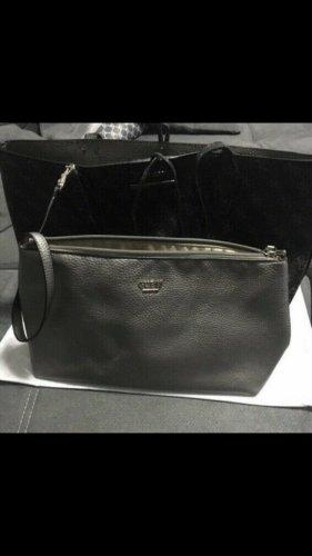 Guess Tasche mit Geldbörsen Grau/Silber