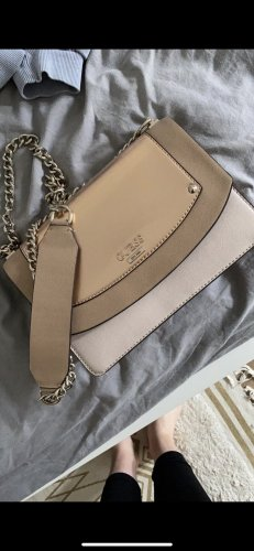 Guess Crossbody bag gold-colored-pink
