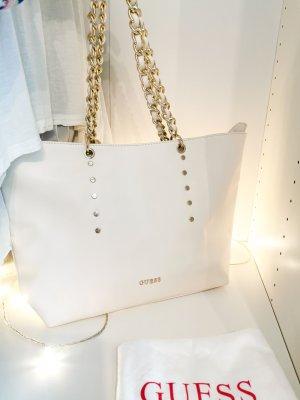 Guess Handbag white-gold-colored