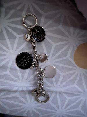 Guess Sleutelhanger zilver-zwart