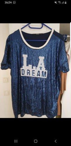 Guess Oversized shirt donkerblauw