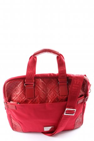 Guess Traditional Bag red themed print casual look