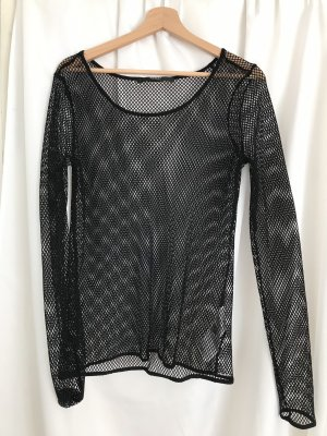 Guess Top lungo nero