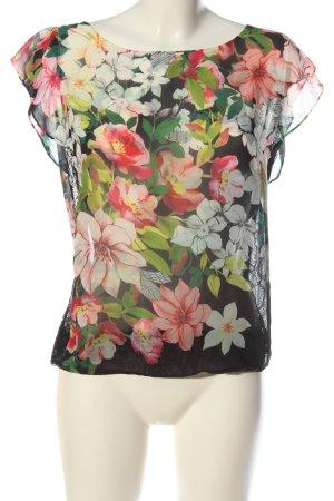 Guess Blusa transparente estampado floral look casual