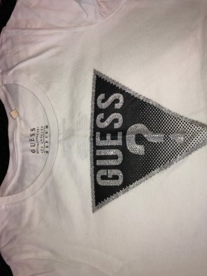 Guess Tshirt Logo Black/White