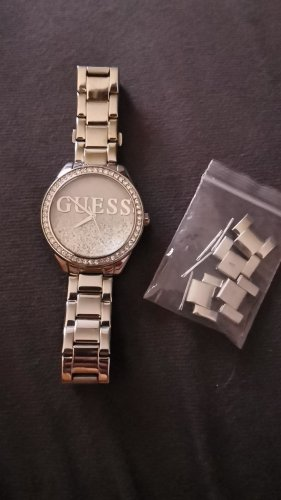 Guess Montre analogue argenté