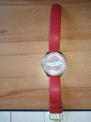 Guess Reloj analógico rojo