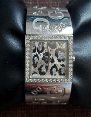 Guess Stojak na zegarek srebrny