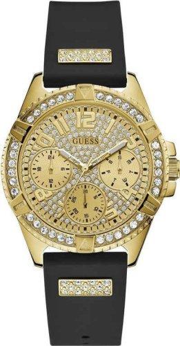 Guess Analoog horloge goud-zwart