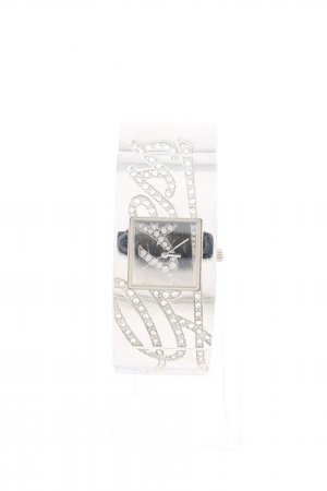 Guess Uhr mit Metallband silberfarben Casual-Look