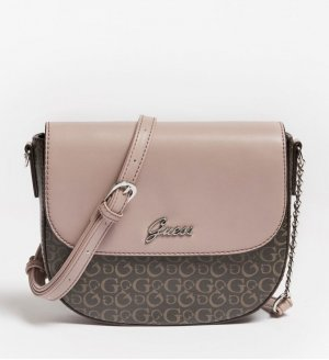 Guess Crossbody bag dark brown