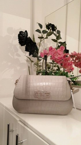Guess Crossbody bag silver-colored