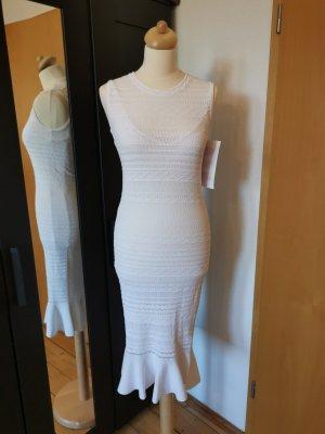 Guess weißes Meerjungfrauenkleid