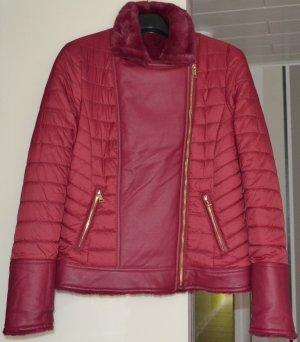 Guess Reversible Jacket bordeaux mixture fibre