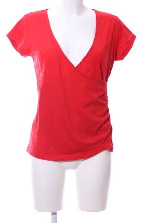 Guess Maglietta aderente rosso stile casual
