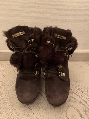Guess Winterstiefel, Bergschuh Optik, Alpinlook