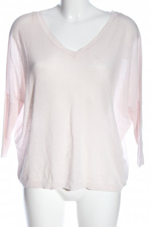 Guess Wollpullover pink Zopfmuster Casual-Look