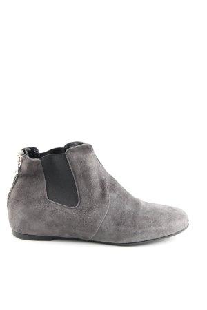 Guglielmo Rotta Chelsea Boots hellgrau Business-Look