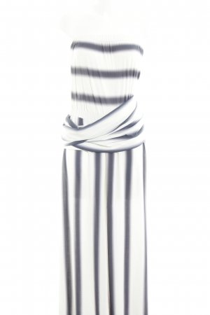 Guido Maria Kretschmer Maxikleid weiß-grauviolett Farbverlauf Casual-Look