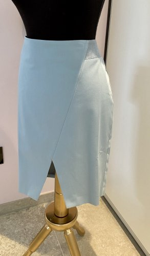Guido Maria Kretschmer Asymetryczna spódniczka jasnoniebieski-szaro-zielony