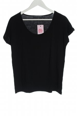 Guido Maria Kretschmer T-Shirt black casual look