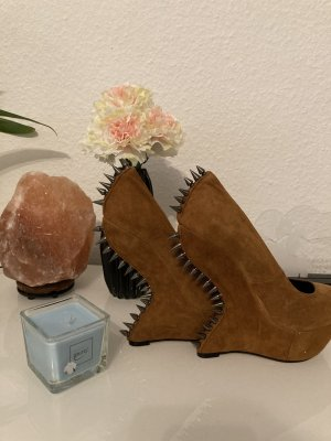 Giuseppe Zanotti High Heels bronze-colored