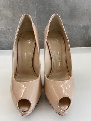 Guiseppe Zanotti Schuhe gr 39 in nude, selten getragen