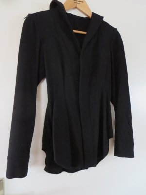 Gulyi Gymento Italy Blazer Jacke schwarz Wolle elegant used