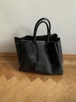 Gianni chiarini Borsa shopper nero-grigio scuro