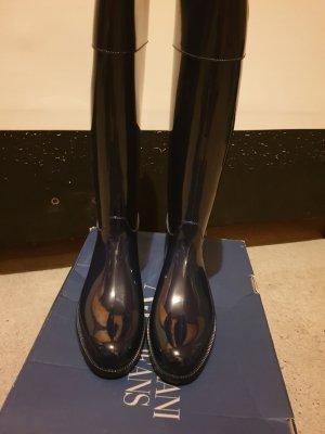 Armani Gumowe buty niebieski