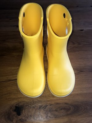 Crocs Botas de agua amarillo-blanco