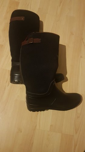 Humanic Slouch Boots black