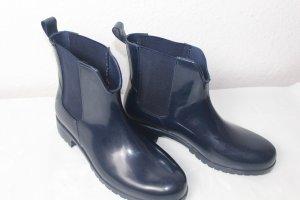 Tamaris Wellington laarzen donkerblauw-blauw