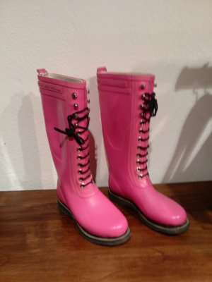 Ilse jacobsen Wellies pink-black synthetic