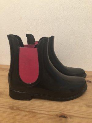 Gummistiefel kurz im Chelsea Boots Look