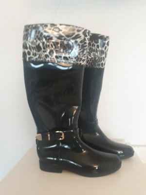 Gummistiefel Leopard Design