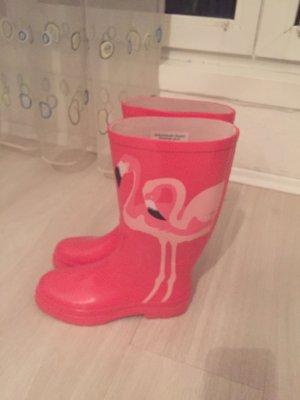 Botas de agua rosa