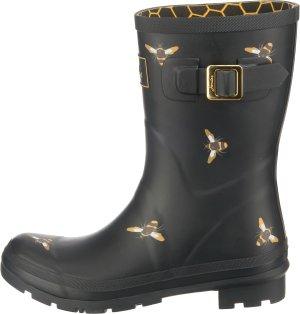 Tom Joule Gumowe buty czarny-żółty