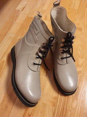 Ilse jacobsen Gumowe buty jasnoszary-beżowy