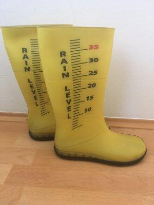 Regina Gumowe buty żółty