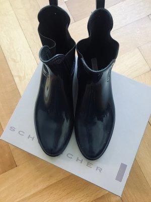 Schuhmacher Wellington laarzen donkerblauw