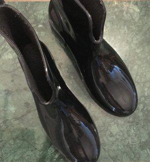Botas bajas negro