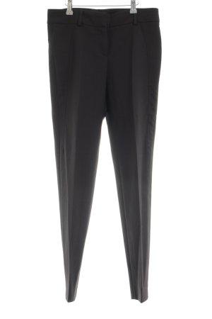 Gunex Pantalon de costume noir style d'affaires