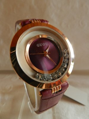 Analog Watch multicolored metal