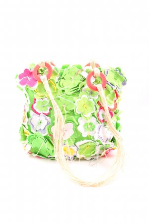 Guru Stoffen tas bloemenprint casual uitstraling